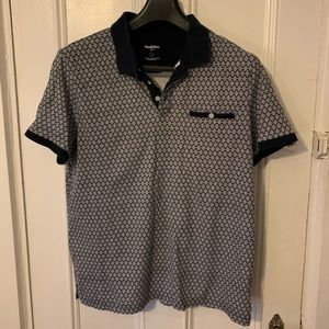 Men's L Goodfellow & Co. Patterned Polo